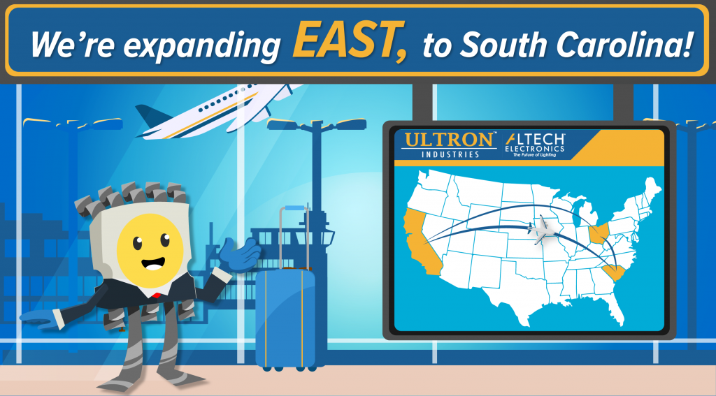 Altech is Expanding East to South Carolina