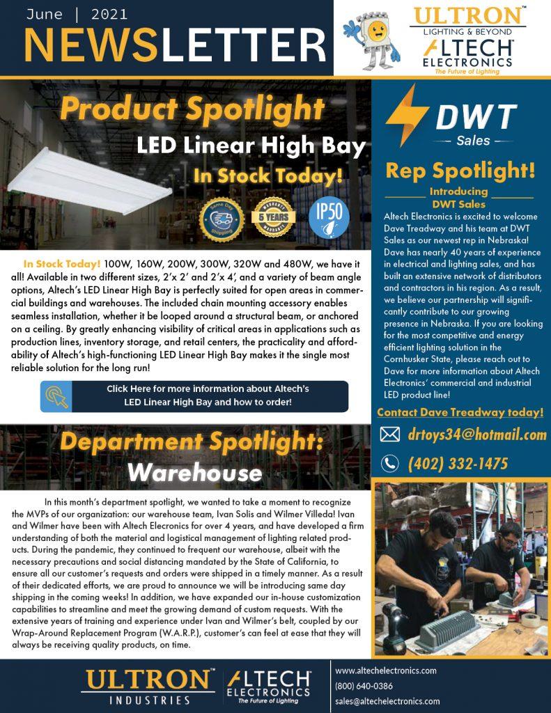 Altech Electronics Newsletter