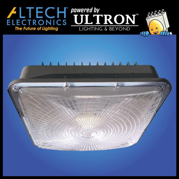 28 Watts LED Low Bay Mammoth Canopy